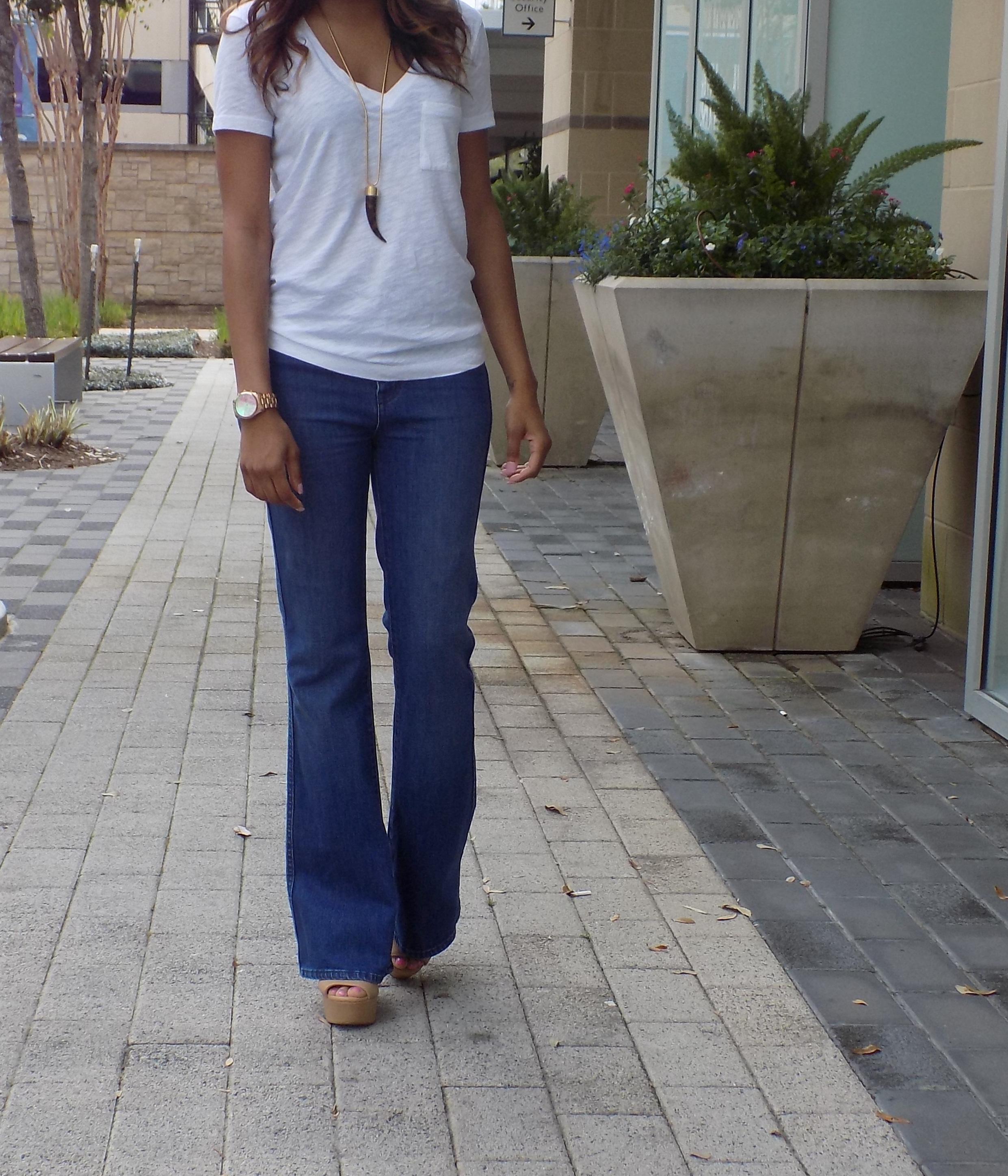 flare jeans styl'd grace