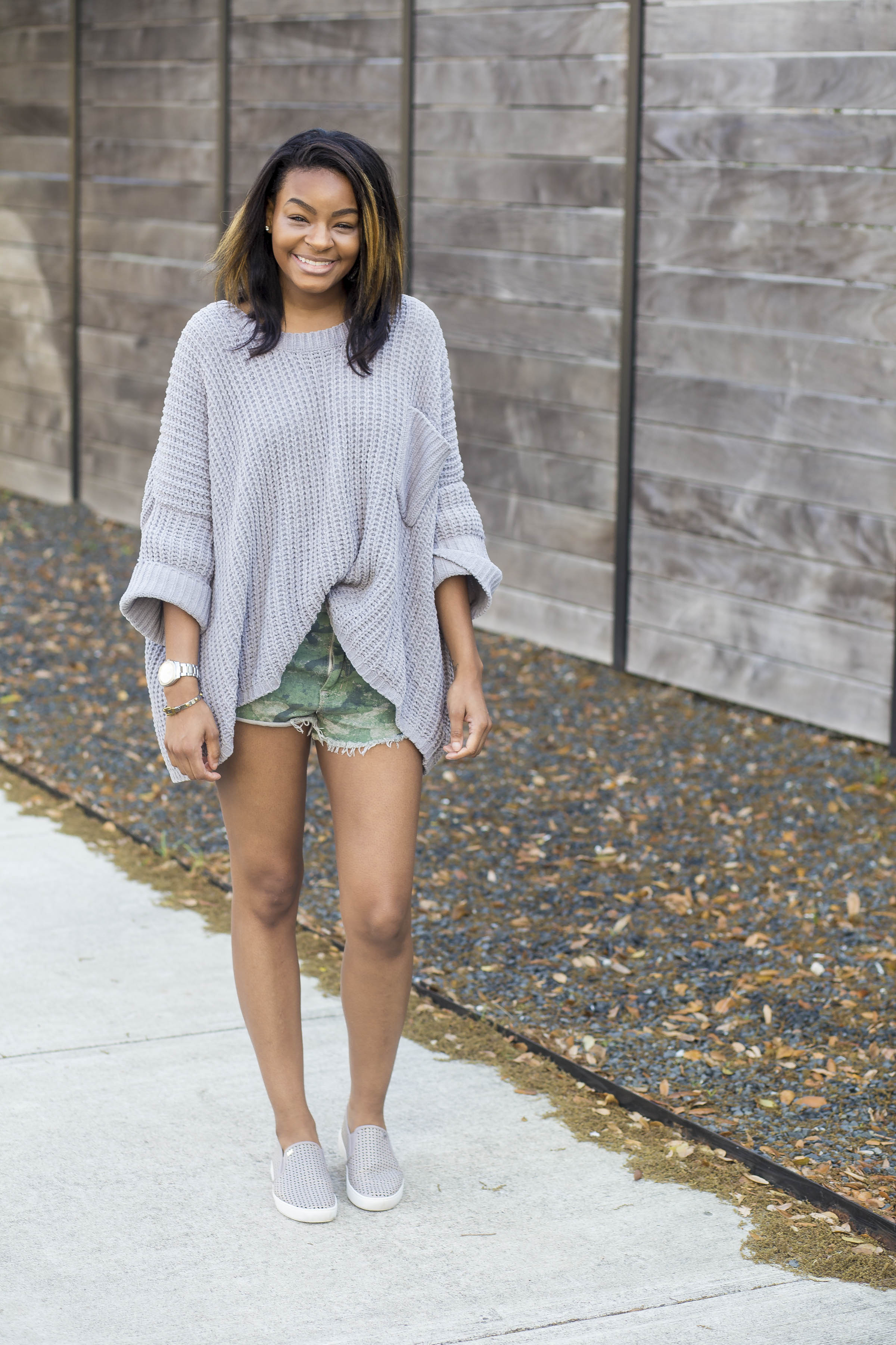 shorts with long sleeves
